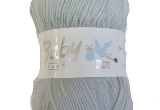 Baby Care 4ply 716 Silver
