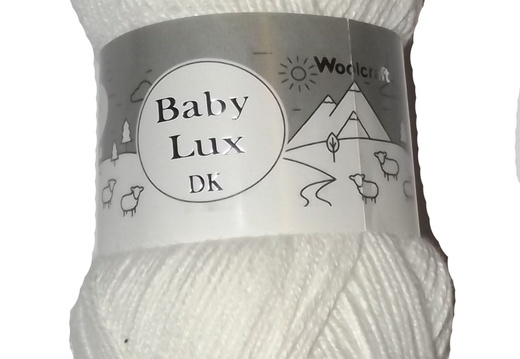 Baby Lux 70120 White